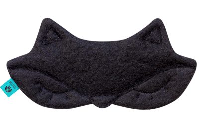 ooloom-black-fox-sleeping-mask